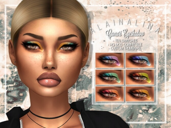 Camari Eyeshadow at AlainaLina image 14119 670x503 Sims 4 Updates