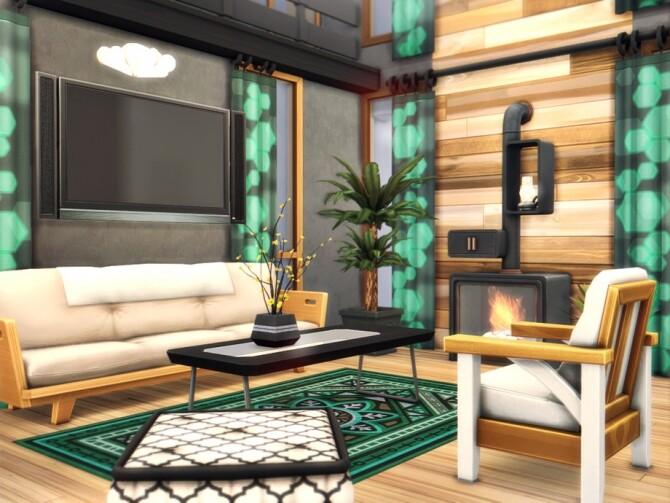 Sims 4 Ume Eco Loft by Rirann at TSR