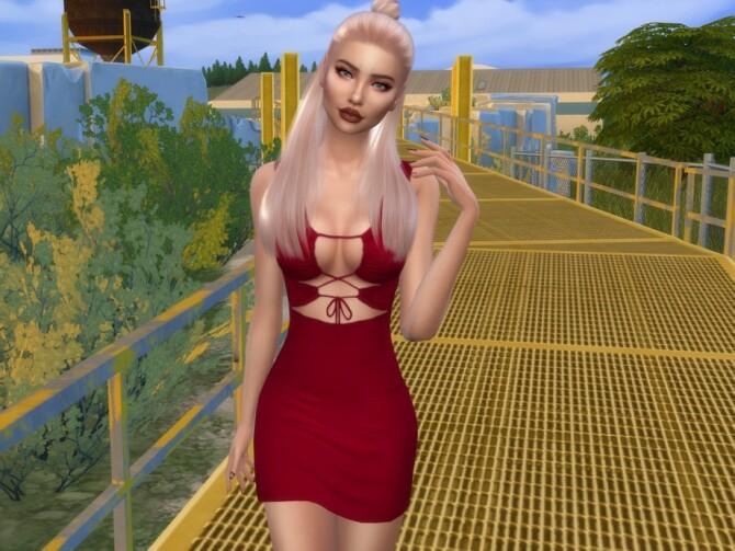 Sims 4 Janessa Kumar by divaka45 at TSR