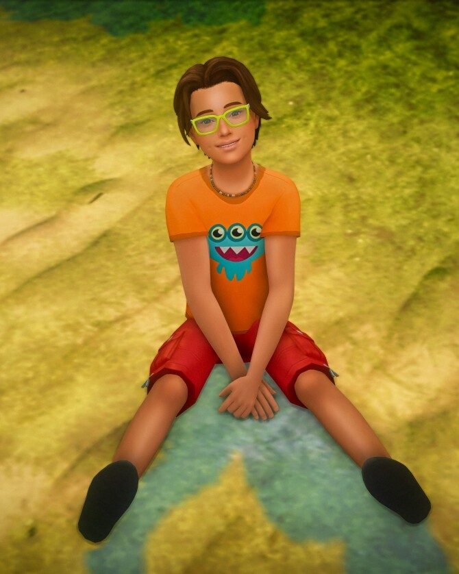Sitting on the Ground Poses for Children at Katverse image 14313 670x838 Sims 4 Updates