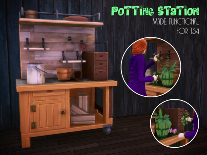 Eco Lifestyle potting station by Astraea Nevermore