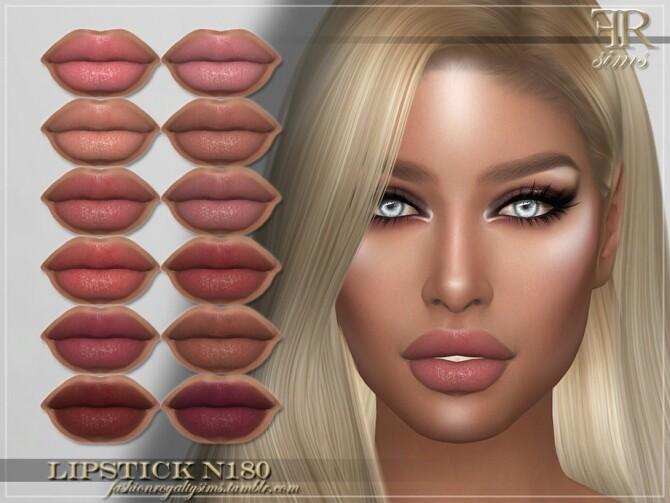 Sims 4 FRS Lipstick N180 by FashionRoyaltySims at TSR