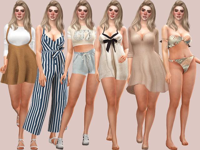 Sims 4 Kacey Hewitt at MSQ Sims