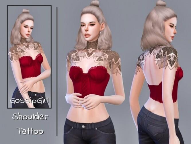 Shoulder Tattoo by GossipGirl-S4