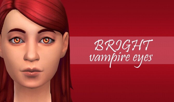 BRIGHT eyes for vampires by PatoTFP at Mod The Sims image 1503 670x394 Sims 4 Updates