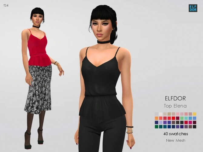 Top Elena at Elfdor Sims image 15112 670x503 Sims 4 Updates