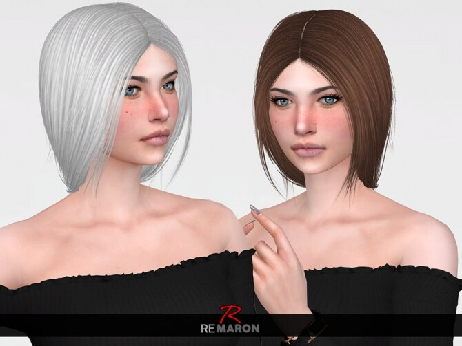 Sims 4 Rosie Hair Retexture by remaron at TSR