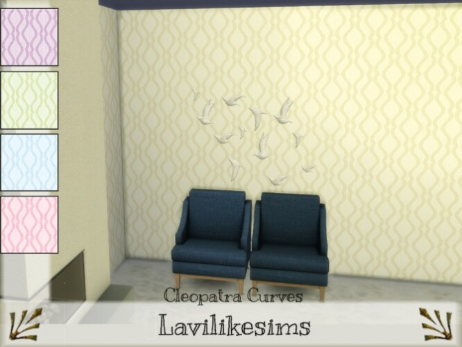 Cleopatra Curves Wallpaper by lavilikesims