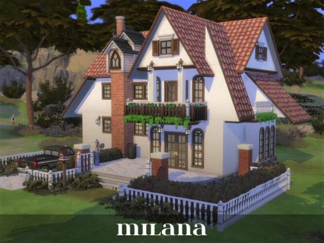 Milana house by Rosaralati