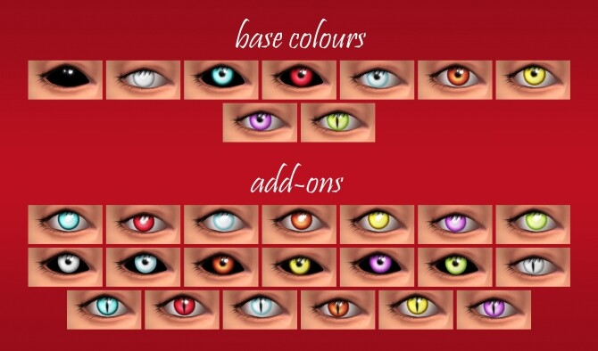 BRIGHT eyes for vampires by PatoTFP at Mod The Sims image 1516 670x394 Sims 4 Updates