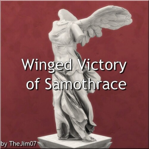 Winged Victory of Samothrace by TheJim07