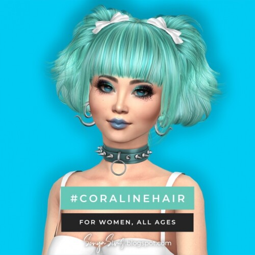 Coraline Sky Hair July Gifts