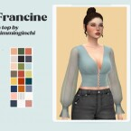 The Francine top