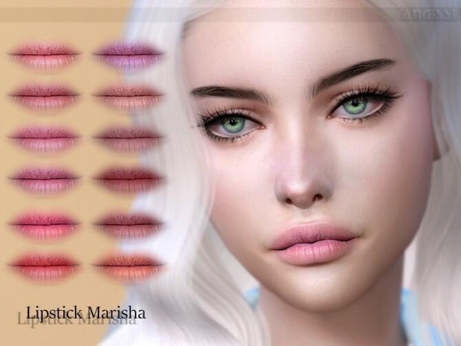 Sims 4 Marisha lipstick by ANGISSI at TSR