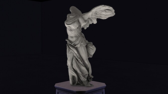 Winged Victory of Samothrace by TheJim07 at Mod The Sims image 15512 670x377 Sims 4 Updates