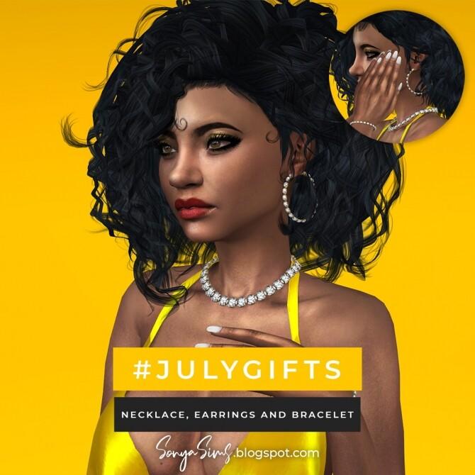 Coraline & Sky Hair + July Gifts at Sonya Sims image 1552 670x670 Sims 4 Updates