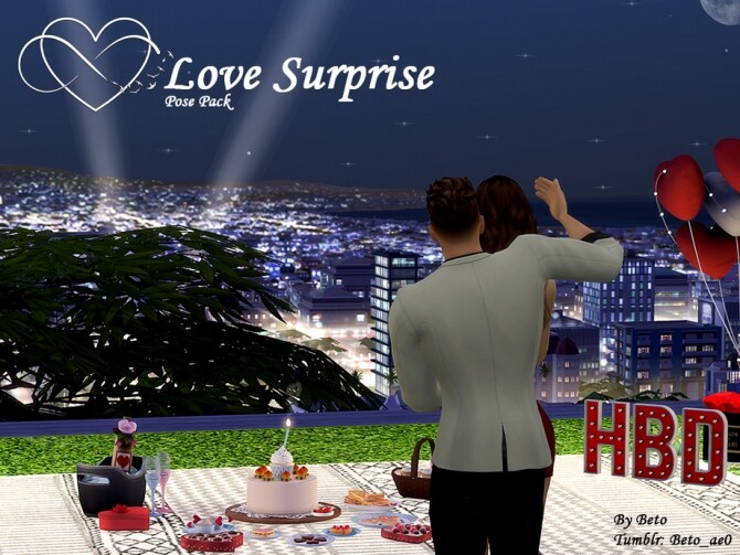 Surprise Pose pack by Beto ae0 at TSR image 1560 670x503 Sims 4 Updates
