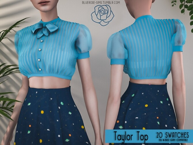 Sims 4 Modern Vintage Collection Part 1 at BlueRose Sims