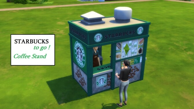 Starbucks To Go! by ArLi1211 at Mod The Sims image 1565 670x377 Sims 4 Updates