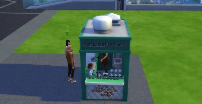 Sims 4 Starbucks To Go! by ArLi1211 at Mod The Sims