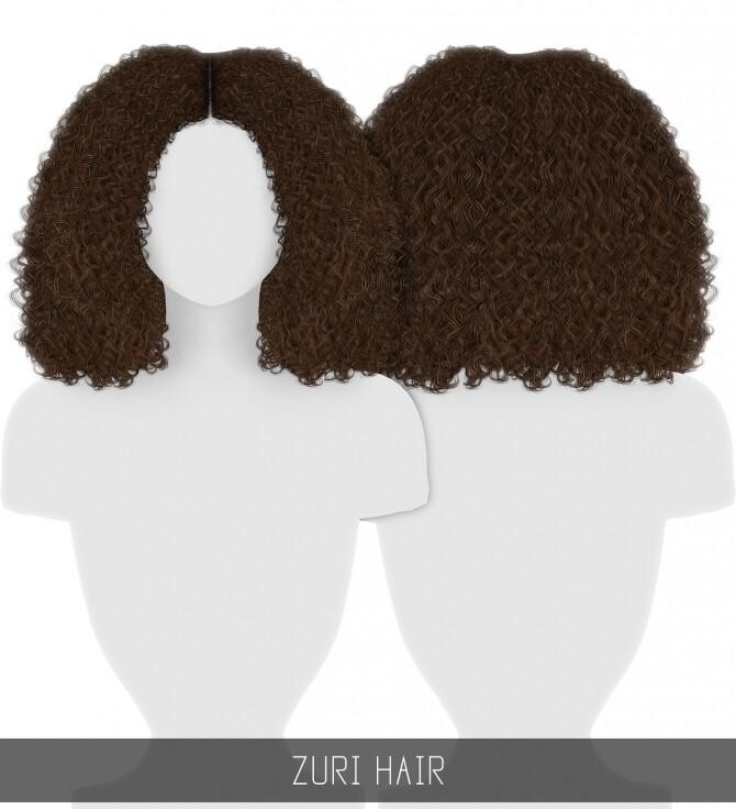 Sims 4 ZURI HAIR + TODDLER & CHILD at Simpliciaty