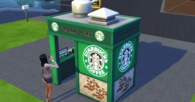 Starbucks To Go! by ArLi1211 at Mod The Sims image 1587 670x351 Sims 4 Updates