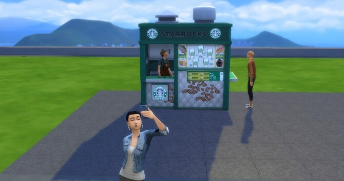 Starbucks To Go! by ArLi1211 at Mod The Sims image 1597 670x354 Sims 4 Updates