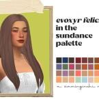 Evoxyr Felicia hair recolored
