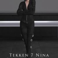 Tekken 7 Nina Williams Blood Vengeance Outfit