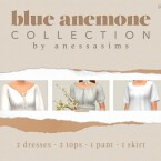 Blue Anemone Clothes Collection