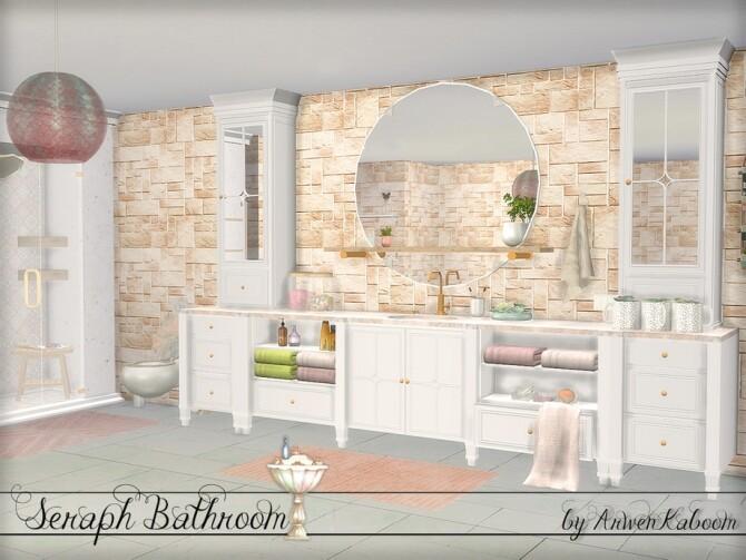 Seraph Bathroom by ArwenKaboom at TSR image 1618 670x503 Sims 4 Updates
