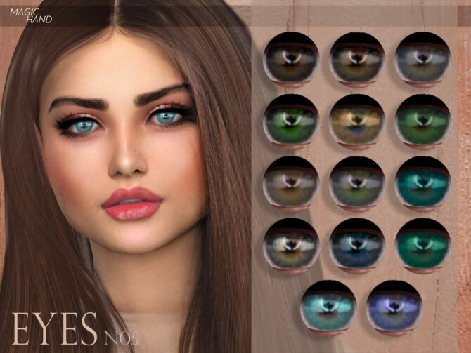 Sims 4 Eyes N05 by MagicHand at TSR