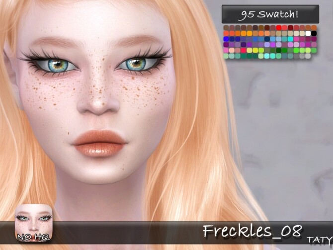 Freckles 08 by tatygagg at TSR image 1730 670x503 Sims 4 Updates