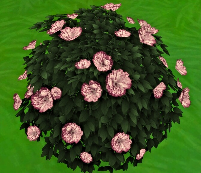 Bachelor Button Bush by Wykkyd at Mod The Sims image 1733 670x575 Sims 4 Updates