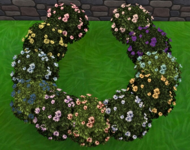 Moonlight Delight Hibiscus Bush by Wykkyd at Mod The Sims image 1743 670x529 Sims 4 Updates