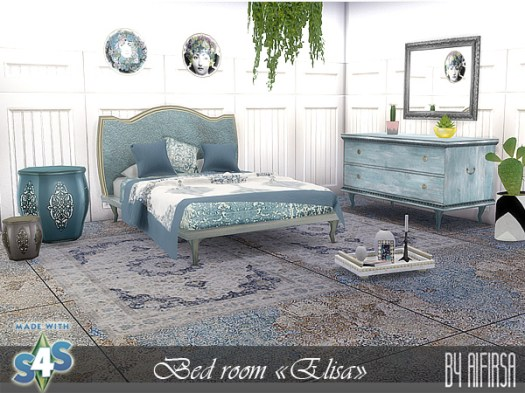 Elisa bedroom