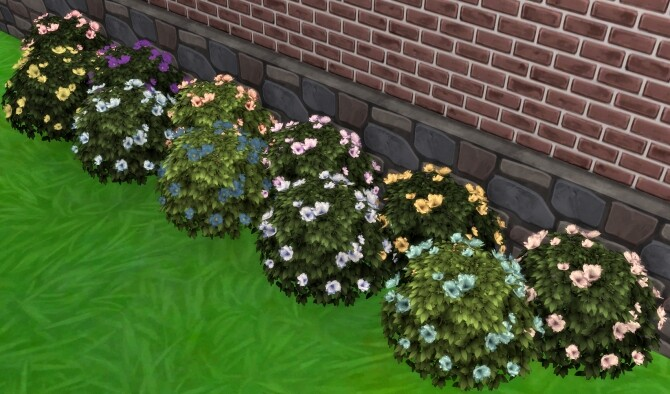 Moonlight Delight Hibiscus Bush by Wykkyd at Mod The Sims image 1753 670x394 Sims 4 Updates