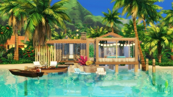 Beach Cabin at Mister Glucose image 1762 670x377 Sims 4 Updates