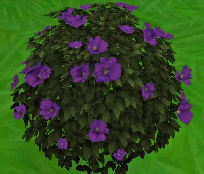 Moonlight Delight Hibiscus Bush by Wykkyd at Mod The Sims image 1763 670x569 Sims 4 Updates