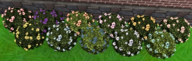 Moonlight Delight Hibiscus Bush by Wykkyd at Mod The Sims image 1774 670x215 Sims 4 Updates