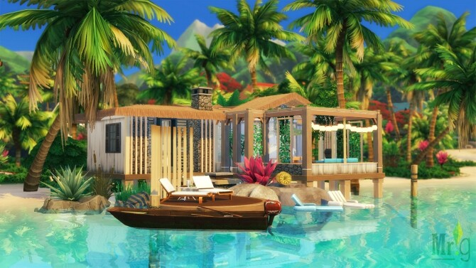 Beach Cabin at Mister Glucose image 1783 670x377 Sims 4 Updates
