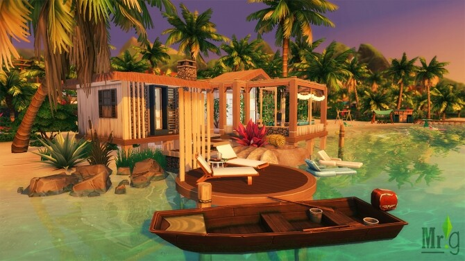 Beach Cabin at Mister Glucose image 1793 670x377 Sims 4 Updates
