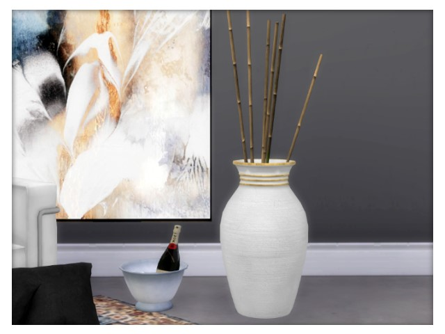Sims 4 Floor vase by Oldbox at All 4 Sims