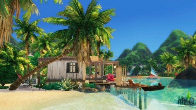 Beach Cabin at Mister Glucose image 1814 670x377 Sims 4 Updates