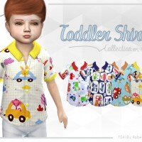 Toddler Shirt Collection RPL49 by RobertaPLobo