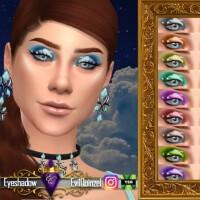 Celestial Eyeshadow by EvilQuinzel