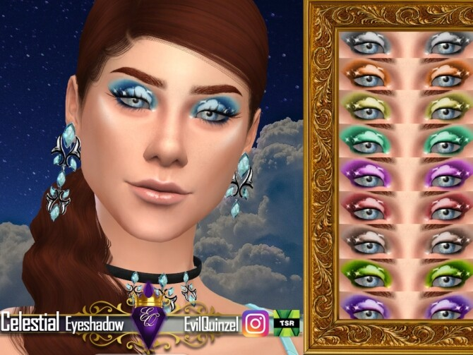 Celestial Eyeshadow by EvilQuinzel at TSR image 1828 670x503 Sims 4 Updates