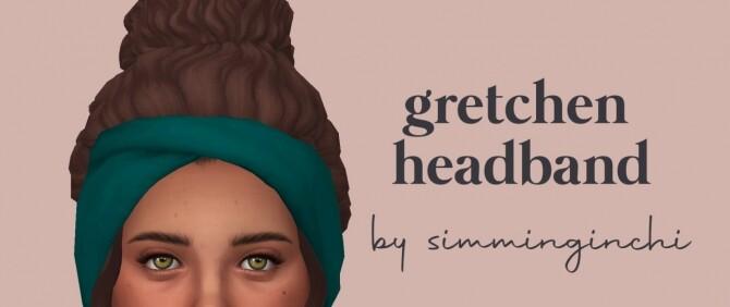 Gretchen hair headband