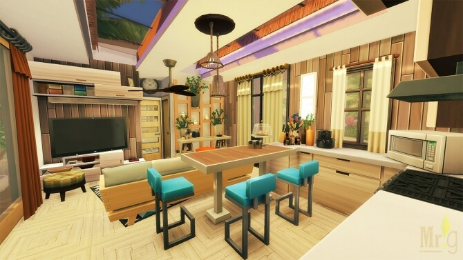 Beach Cabin at Mister Glucose image 1833 670x377 Sims 4 Updates