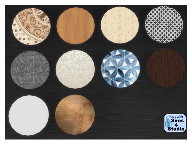Coffee table recolors by Oldbox at All 4 Sims image 1844 Sims 4 Updates